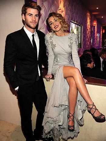 Boyfriends list cyrus miley Miley Cyrus