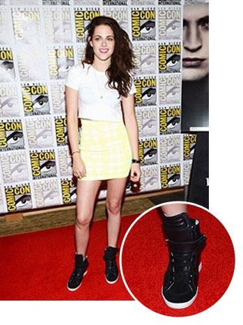 Comic-Con 2012: 'Twilight' Star Kristen Stewart Trades Converse ...