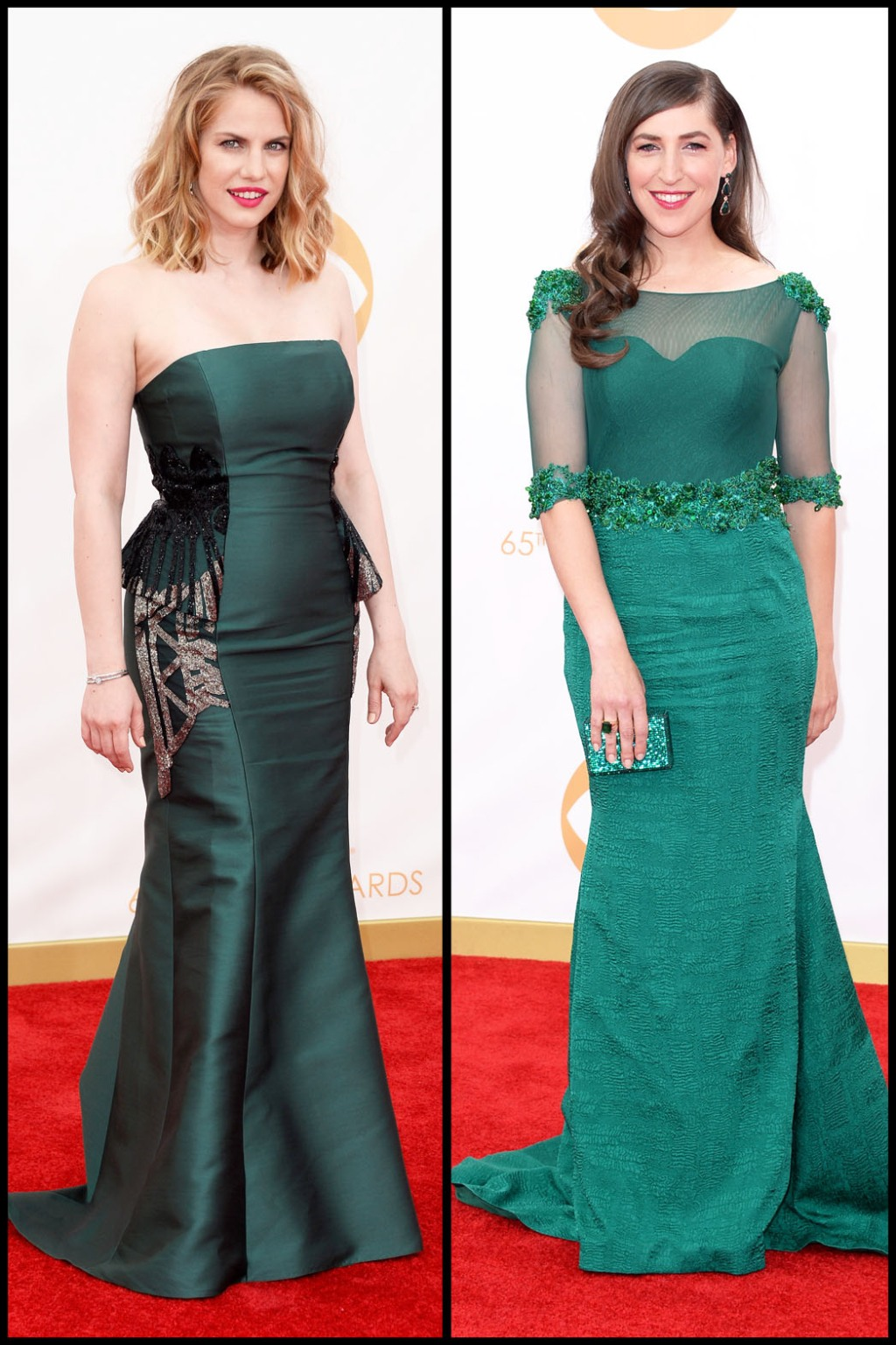 Emmys Fashion 2013: Green Gowns - The Hollywood Reporter