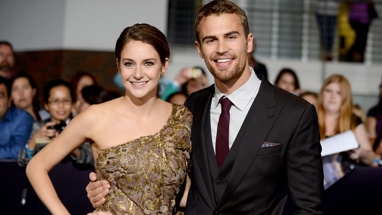 Woodley shailene james theo together and Who is