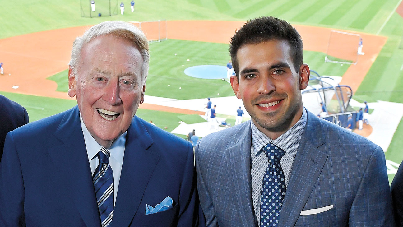 Dodgers Announcer Joe Davis on Replacing Legend Vin Scully and L.A.'s World Series Prospects – The Hollywood Reporter