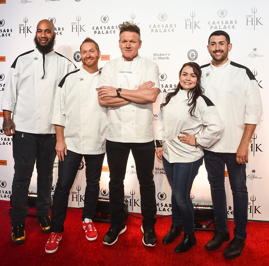 Gordon Ramsay Opens A Hell S Kitchen Themed Restaurant In Las Vegas The Hollywood Reporter