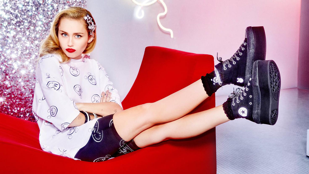 Miley Cyrus Converse Line Includes Shoes and Apparel – The ...