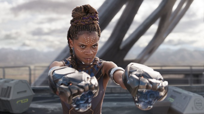 Letitia Wright in 'Black Panther.'