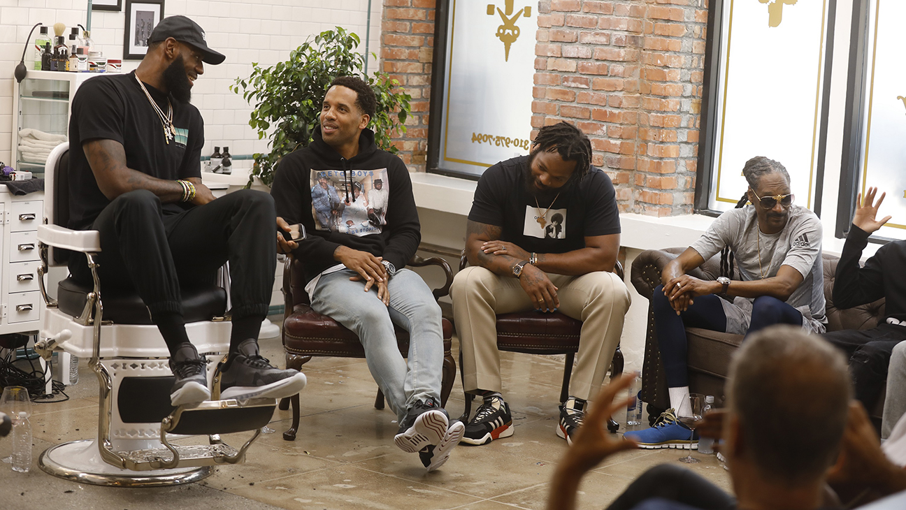 LeBron James Barbershop-Set Talk Show Picked Up by HBO (Exclusive) – The  Hollywood Reporter