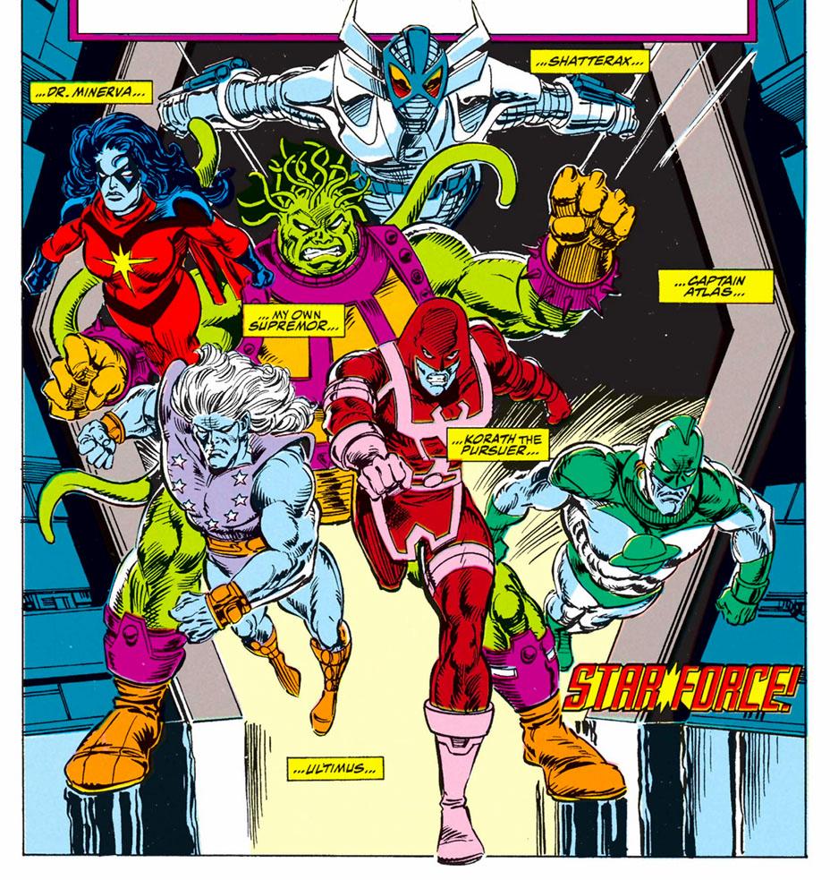 Captain Marvel' The Comic Book Roots of Carol Danvers' Starforce ...