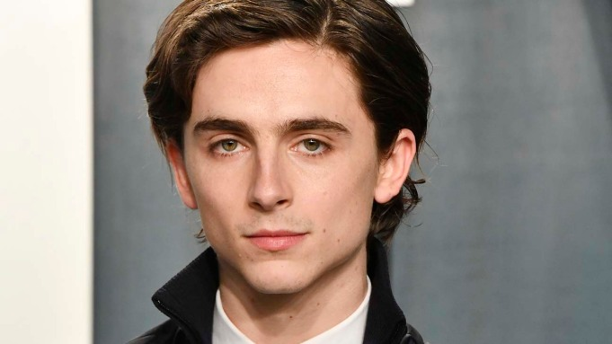 Timothee Chalamet Shares First Look of