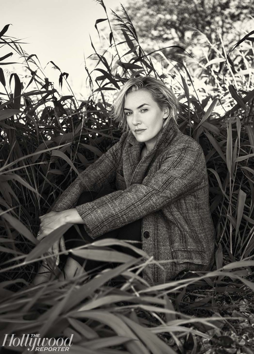 """There was no one leading, there was no one taking charge in a physical way,"" Winslet says of the sex scenes she and Saoirse Ronan performed in 'Ammonite,' ""because it was so equal between Saoirse and me."""