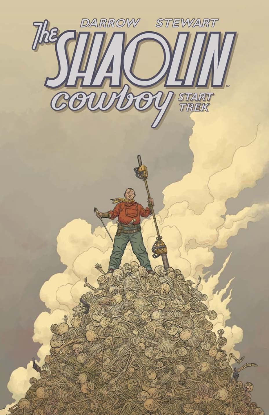 Shaolin Cowboy Paperback