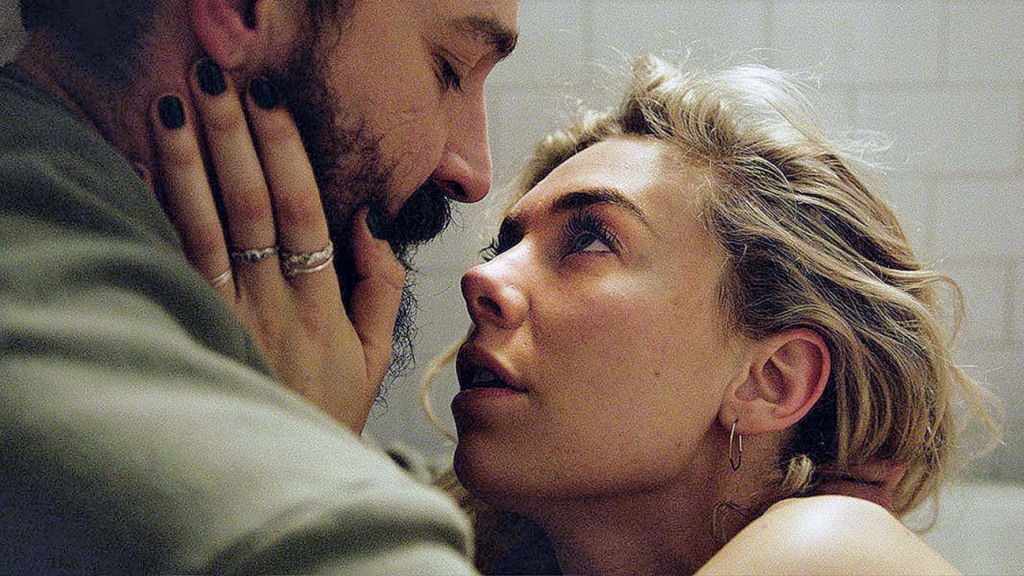 Shia LaBeouf and Vanessa Kirby in 'Pieces of a Woman'