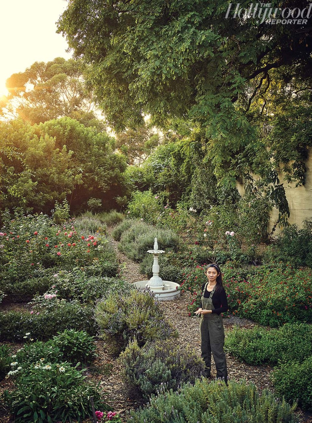"""I find the industry quite noisy,"" says Zhao of her decision to live in Ojai, California, rather than L.A."