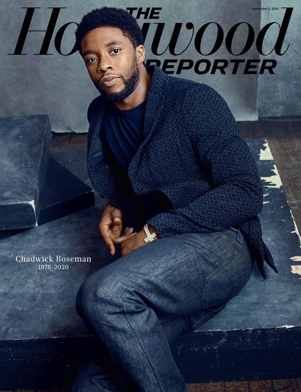 THR Issue 24 Cover Chadwick Boseman