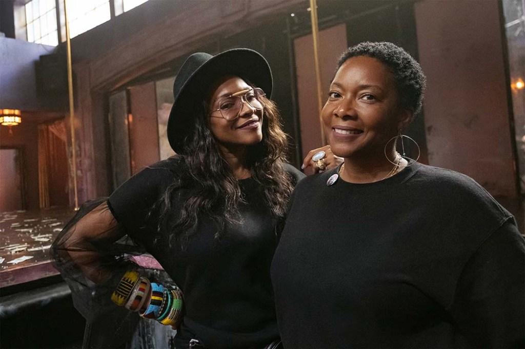 P-Valley costume designer Rita McGhee (left) and assistant costume designer Alita Bailey.