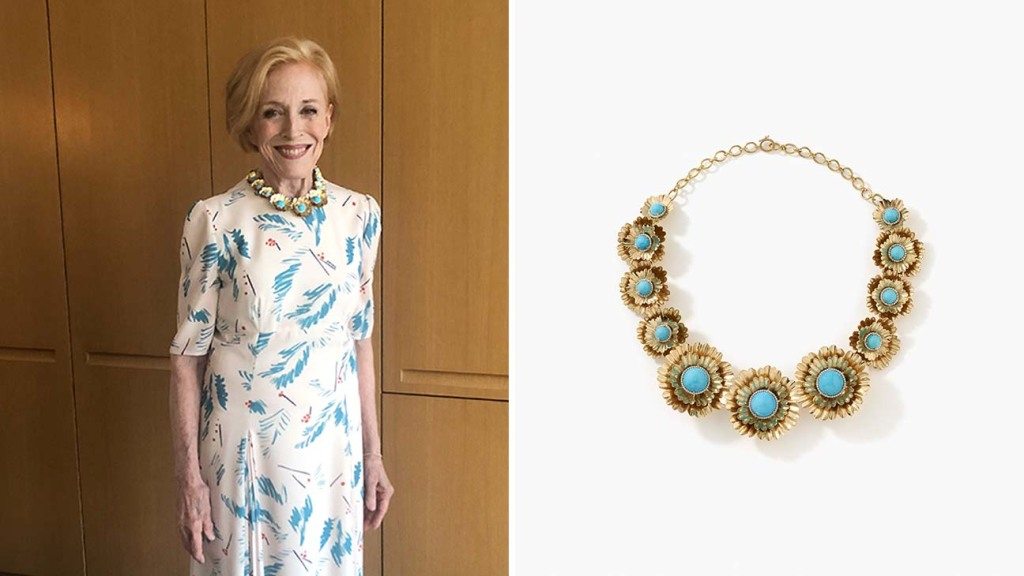 Actress Holland Taylor on Emmy night