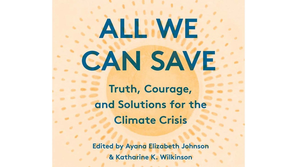 Cover of Audiobook 'All We Can Save'