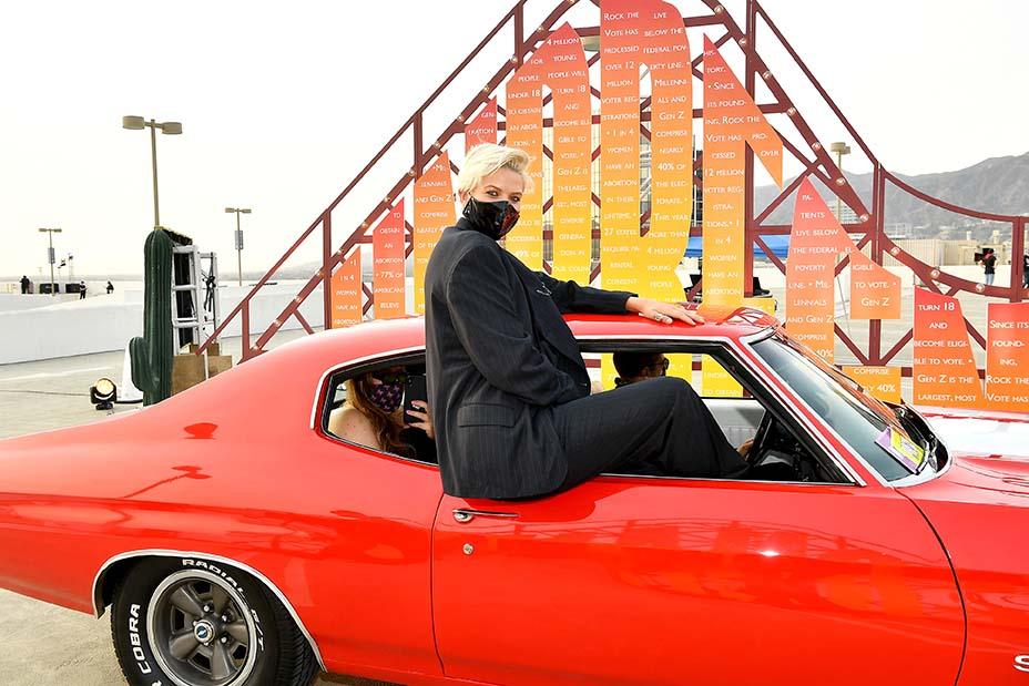 """HBO Max Drive-In Premiere of """"Unpregnant"""""""