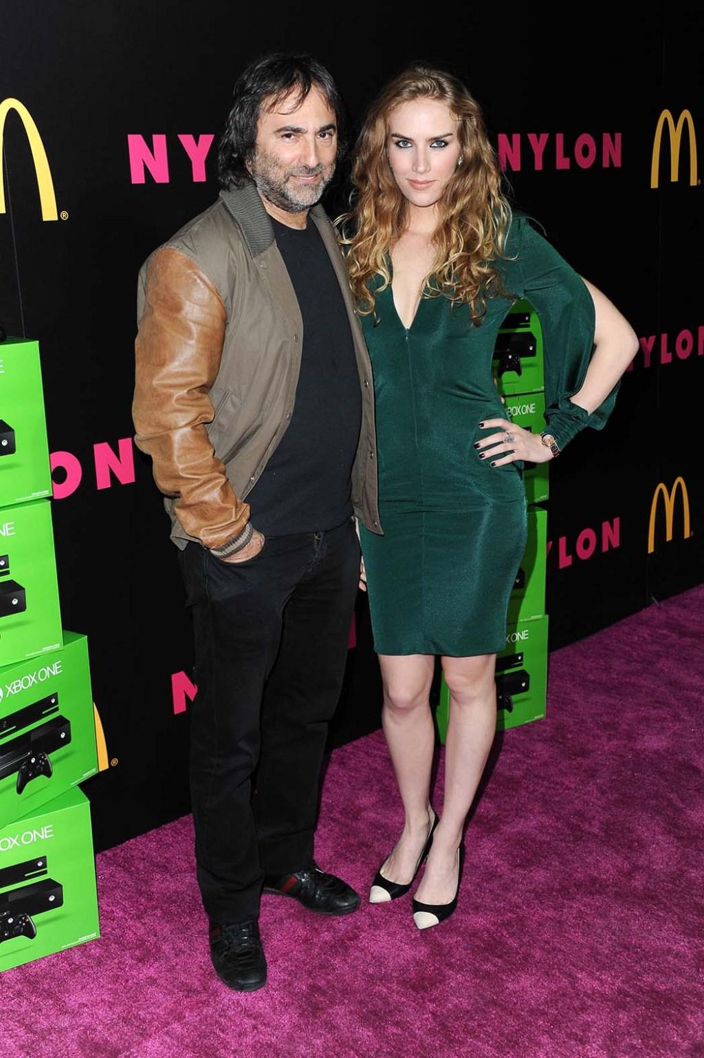 Joshua Newton and actress Charlotte Kirk