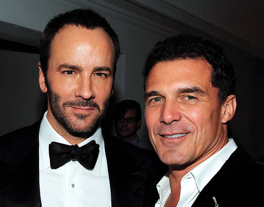 Tom Ford and Andre Balazs