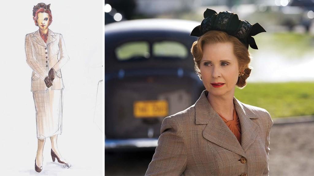 Costume Design - Ratched- Gwendolyn-Briggs-Cynthia-Nixon