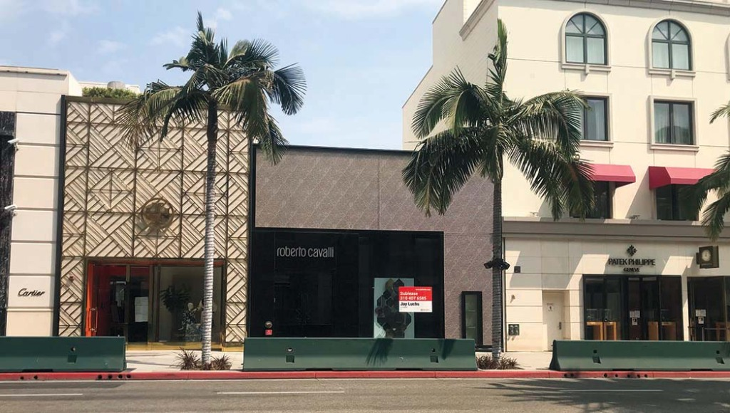 L.A. TOP SHOPPING STREETS-Roberto Cavalli