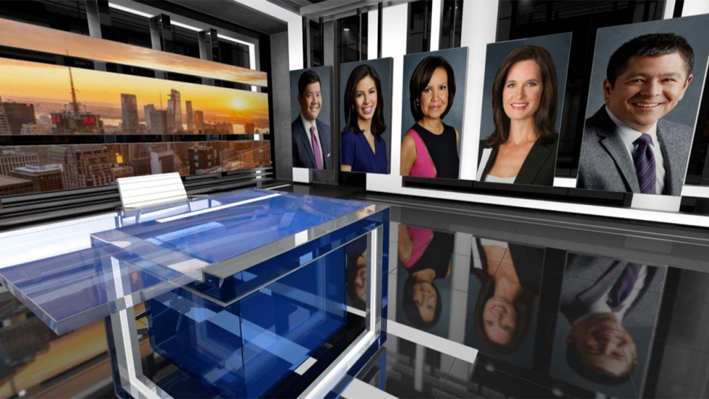 CNBC- The News with Shepard-Smith- Set