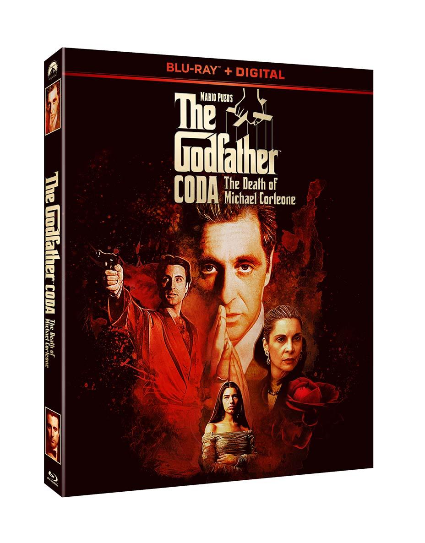 The Godfather Coda box art