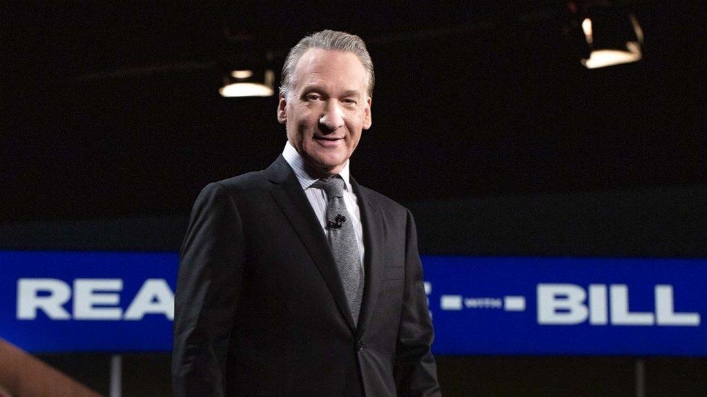 """Bill Maher Says Vaccine """"Probably"""" Helped in 'Real Time' Return After COVID-19 Diagnosis"""