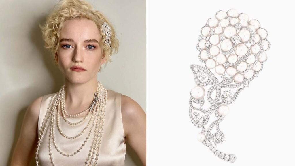 Julia-Garner in Chanel