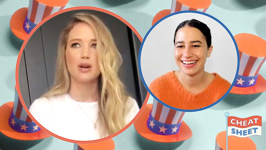 Jennifer Lawrence Joins Ilana Glazer on 'Cheat Sheet for the Voting Booth' series