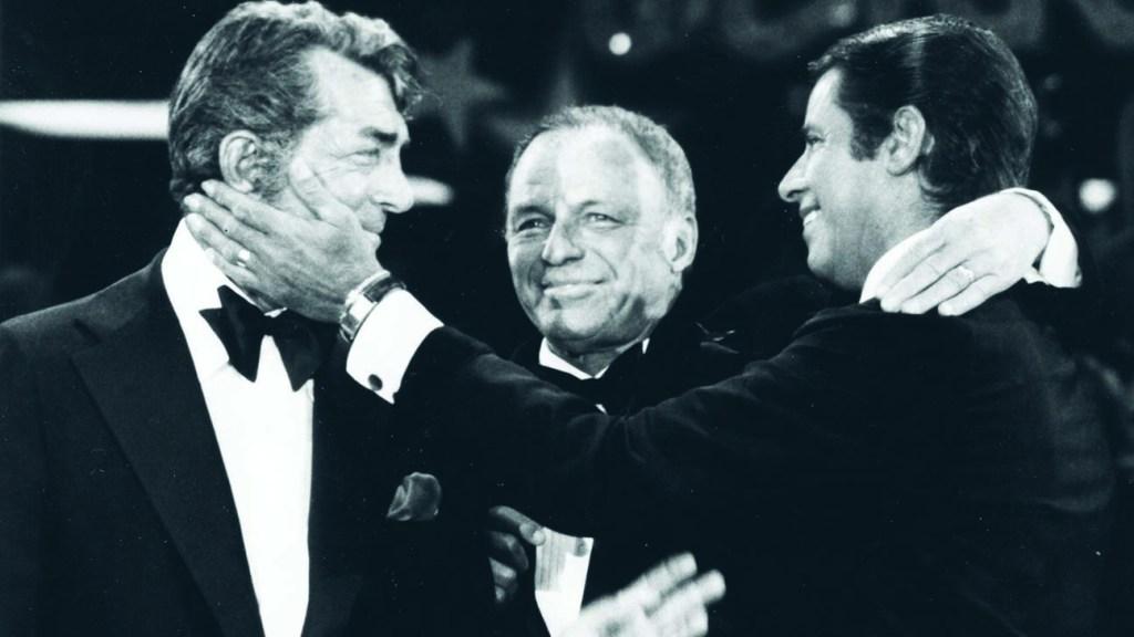 Dean Martin Frank Sinatra Jerry Lewis MDA Telethon