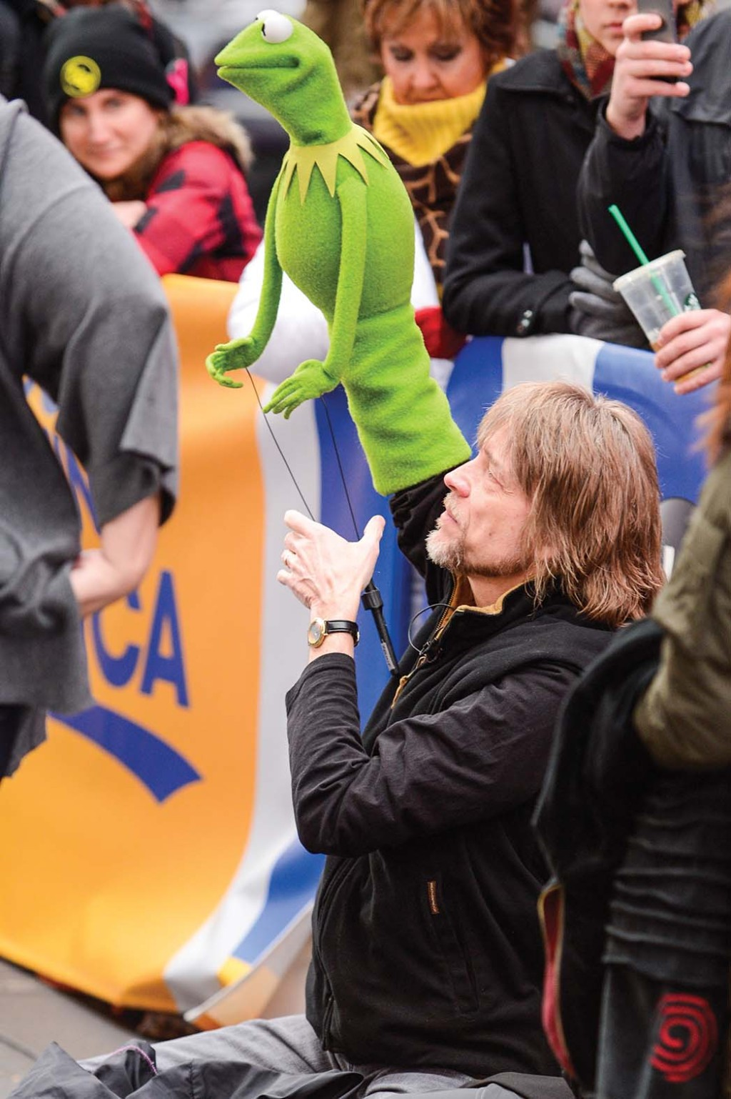 Steve Whitmire operated Kermit before he was fired in 2017.