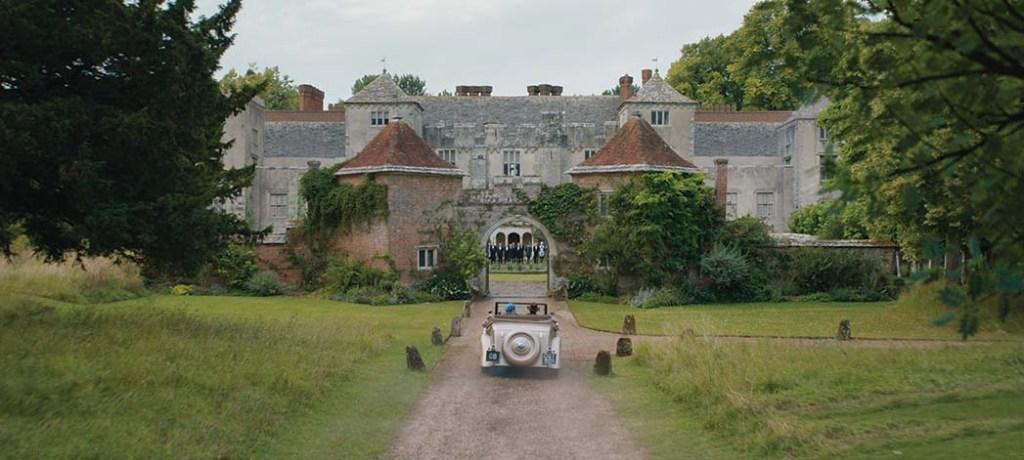 Built in the 12th century, Cranborne Manor in Dorset, England, was used as the exterior of Maxim de Winter's estate, Manderley.
