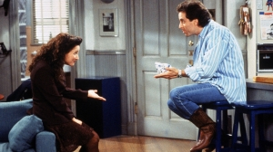 Elaine (Julia Louis-Dreyfus) and Jerry Seinfeld in 'Seinfeld.'