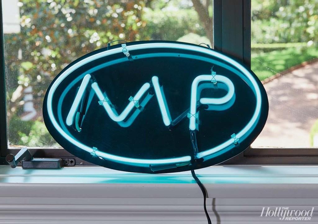 Creative Space - Darren Star neon sign, Melrose Place prop