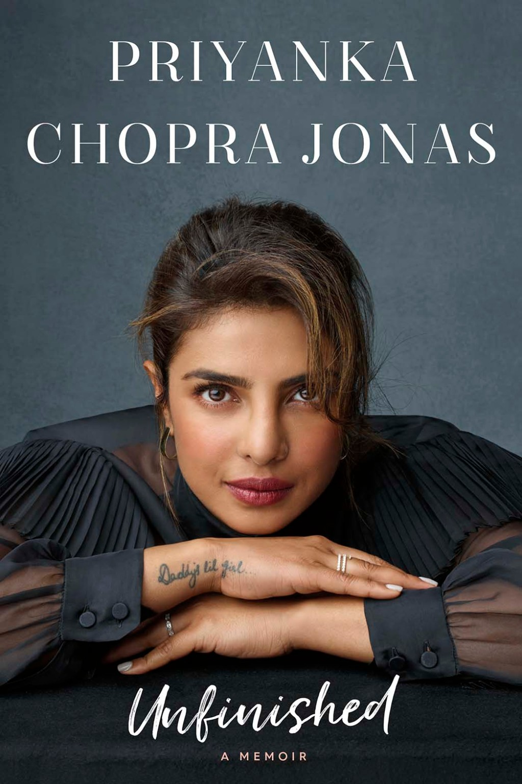 Priyanka Chopra Jonas 'Unfinished' Book Cover