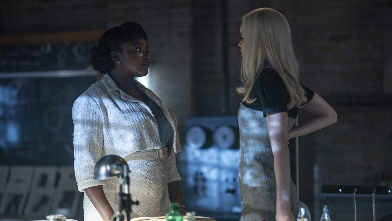 """Wunmi Mosaku and Abbey Lee in """"Lovecraft Counry"""""""