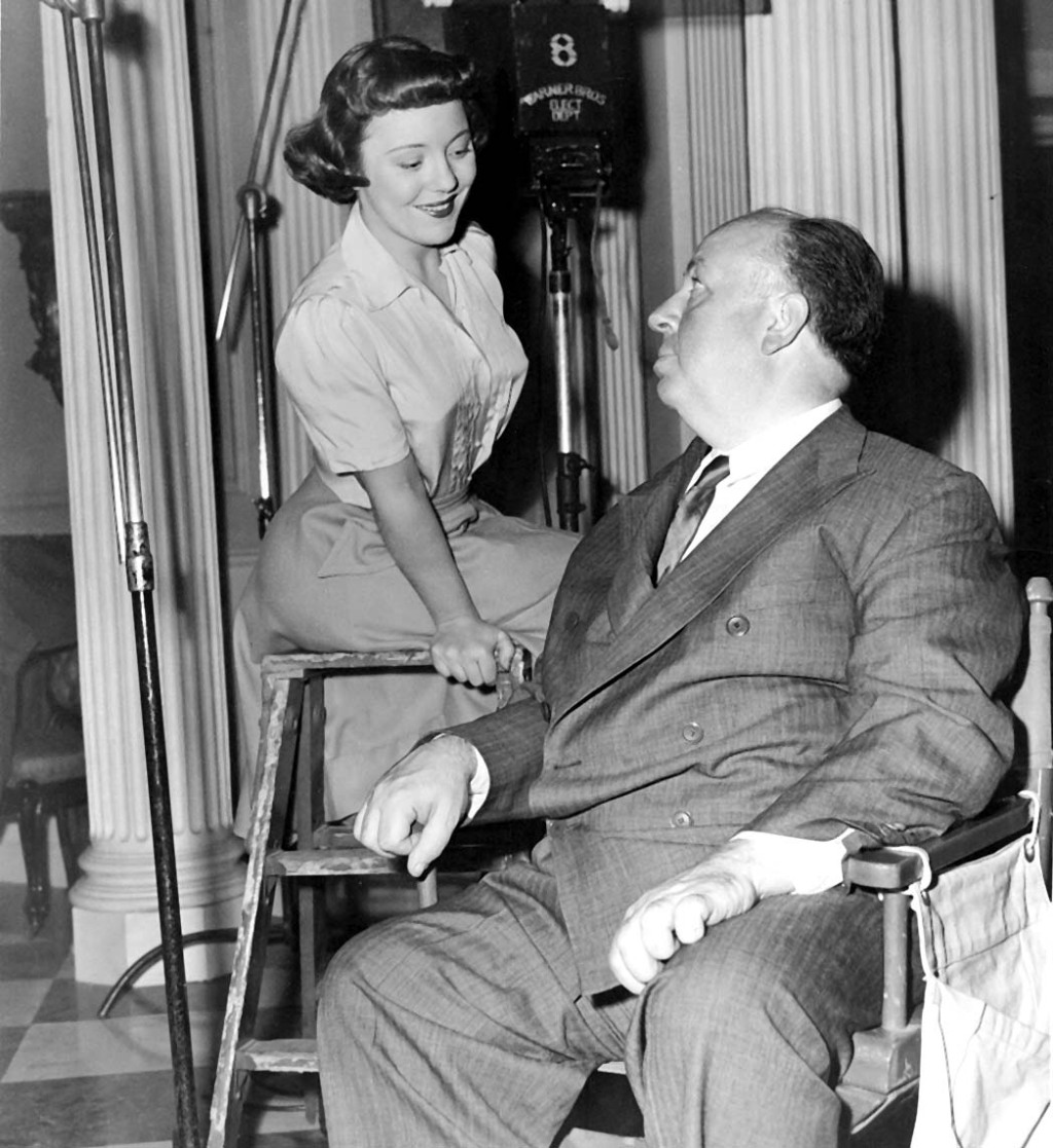 Patricia Hitchcock, Alfred Hitchcock