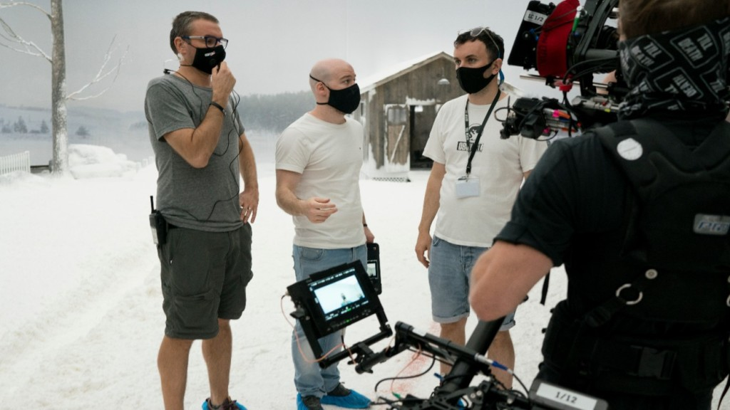 Director S.K. Dale on set of 'Till Death'