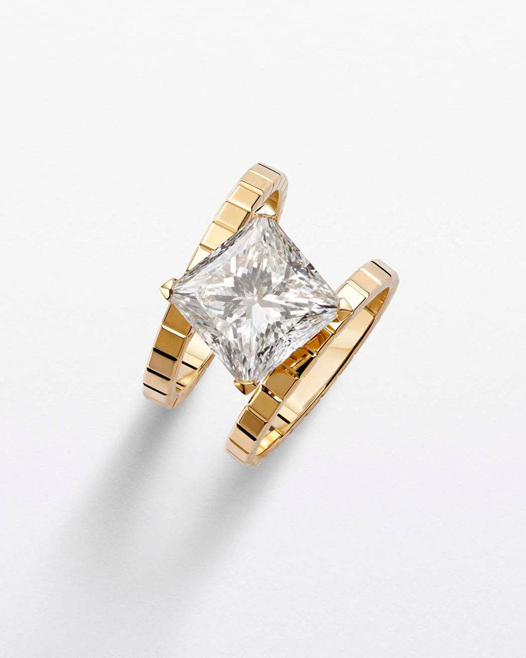 A ring in Chopard's new Ice Cube capsule collection.