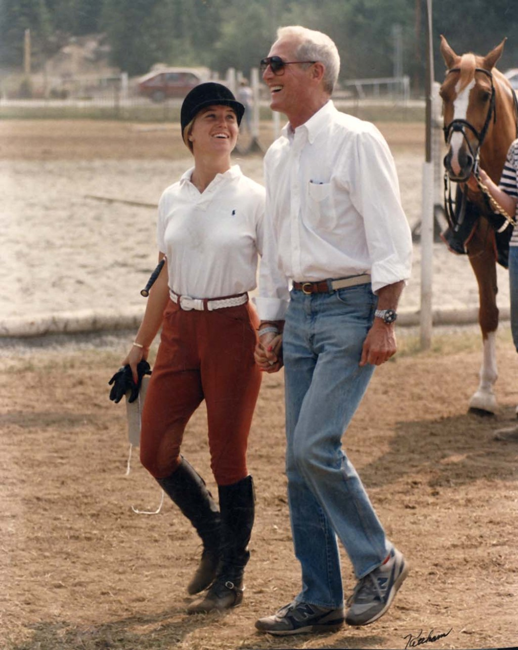 Clea-Newman-and-Paul-Newman-circa-1984