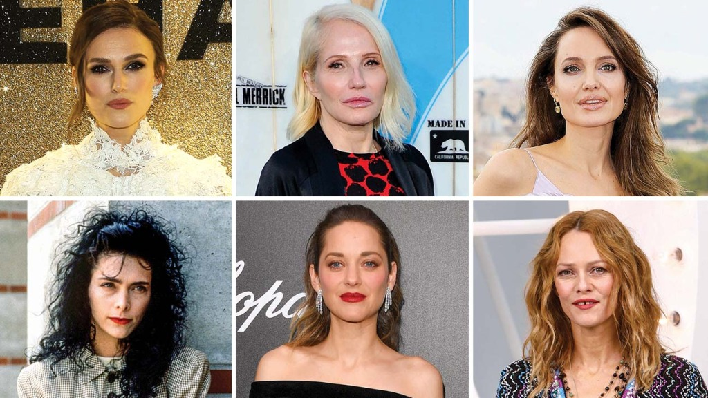 Depp's exes, many of whom have already testified in the actor's trials — or may soon be forced to do so for an early 2021 suit — from left: Keira Knightley, Ellen Barkin, Angelina Jolie, Lori Anne Allison, Marion Cotillard and Vanessa Paradis.