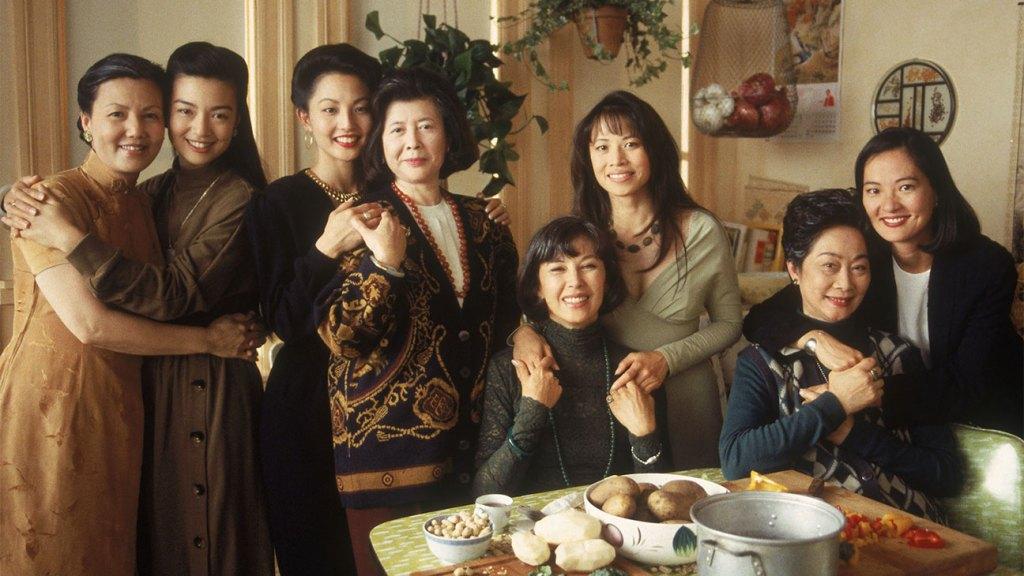 Kieu Chinh (as Suyuan Woo), Ming-Na (as Jing-Mei 'June' Woo), Tamlyn Tomita (as Waverly Jong), Tsai Chin (as Lindo Jong), France Nuyen (as Ying-Ying St. Clair), Lauren Tom (as Lena St. Clair) in 'The Joy Luck Club.'