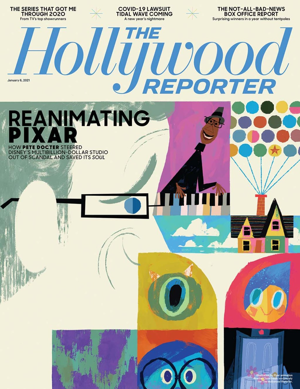 The Hollywood Reporter Cover 1