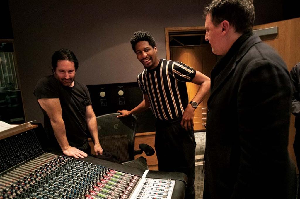 Trent Reznor, Jon Batiste and Atticus Ross