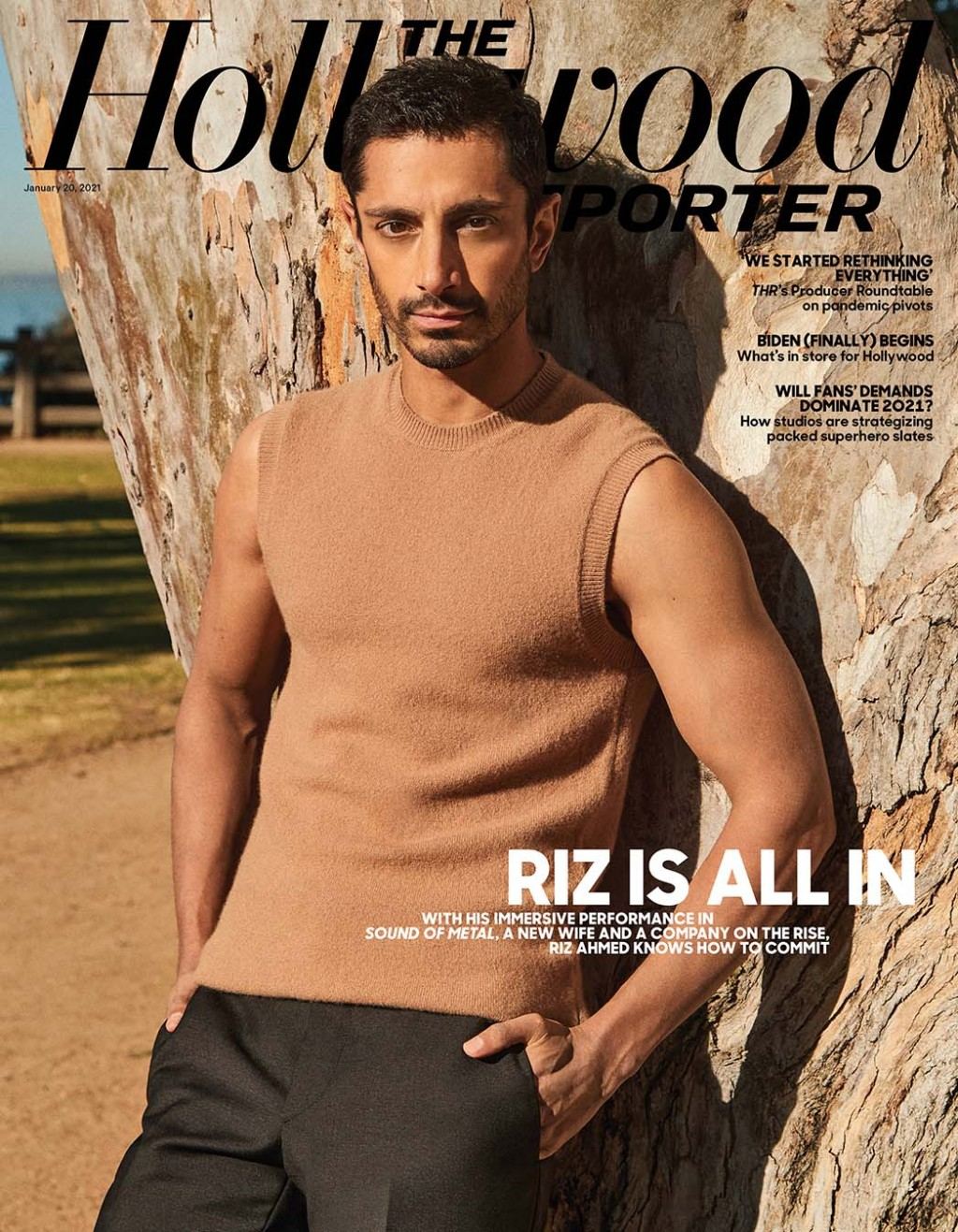 The Hollywood Reporter Cover 3 Riz Ahmed