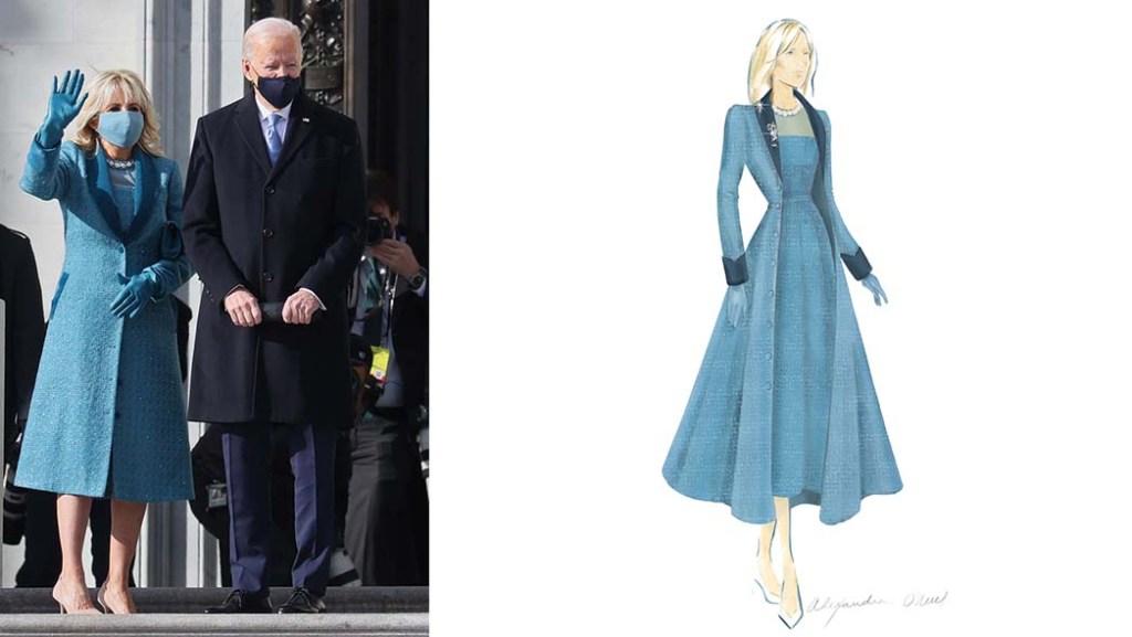 Dr.Biden and Orchid Final Coat sketch