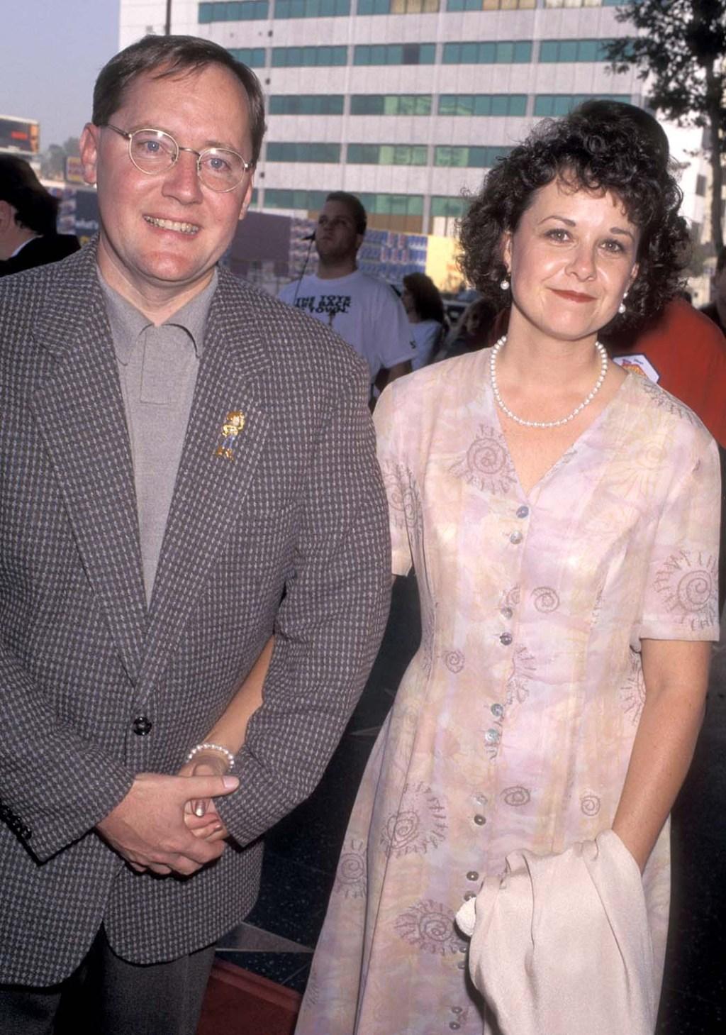 John Lasseter and wife Nancy Trague
