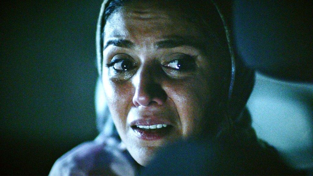 Niousha Jafarian in 'The Night.'