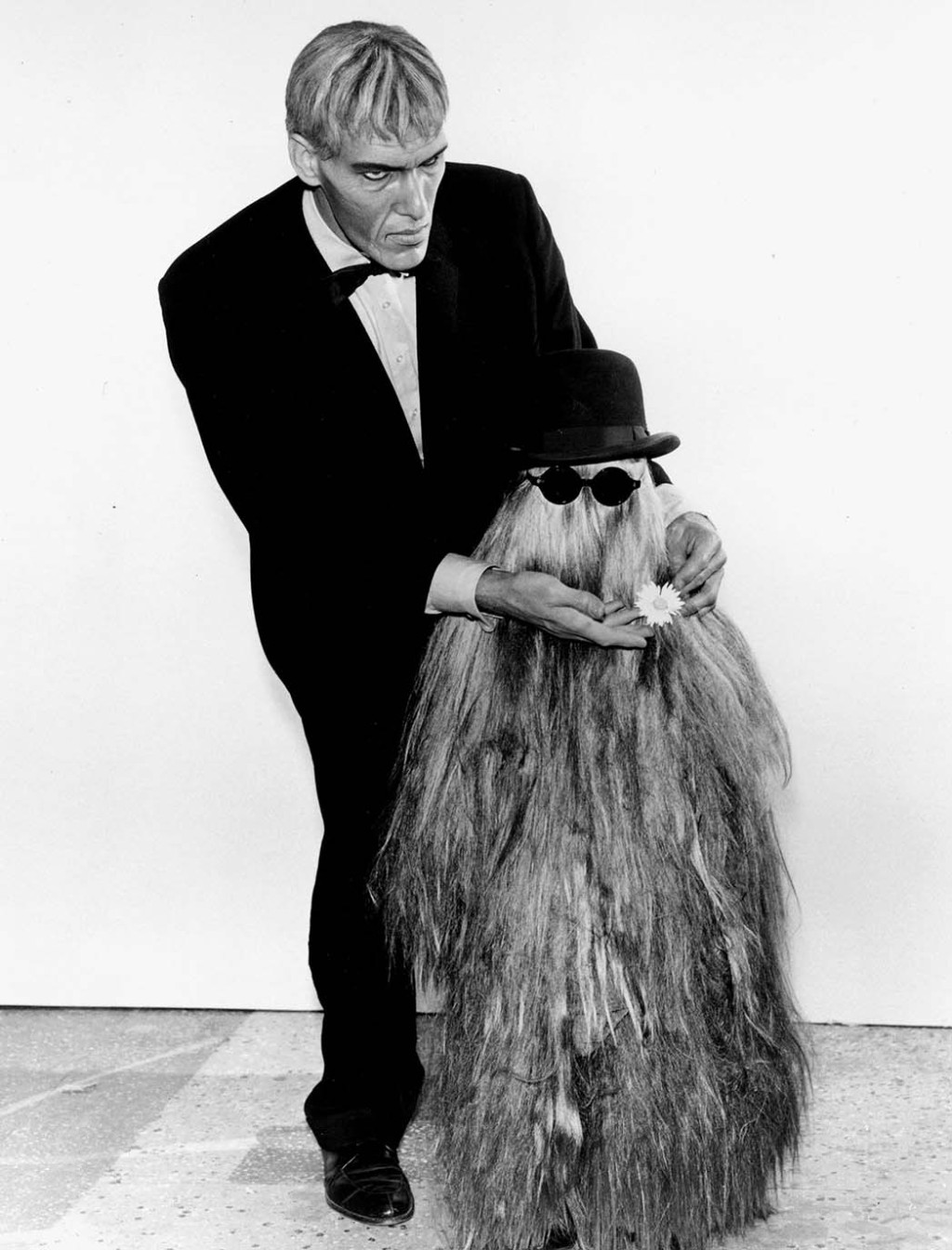 ADDAMS FAMILY, Ted Cassidy and Felix Silla