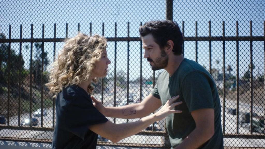 Sienna Miller and Diego Luna in Wander Darkly.